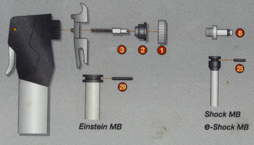 Einstein Master Blaster with Smart head parts