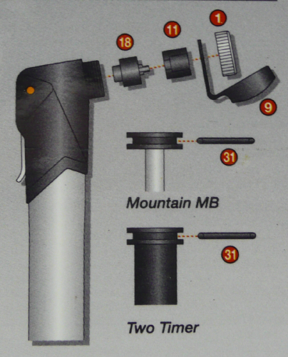 Mountain Master Blaster and Two Timer pump spares