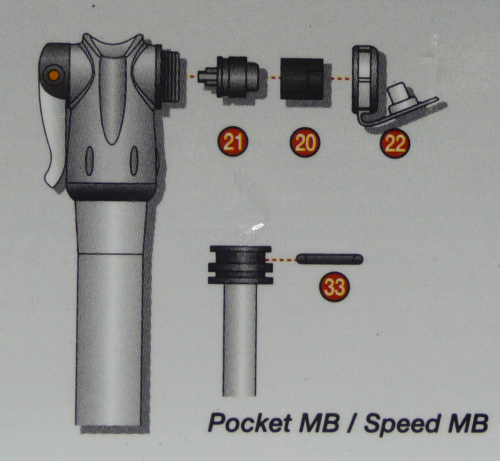 Pocket Master Blaster & Speed Master Blaster pump spares