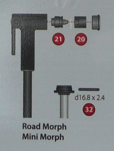 Mini & Road Morph Rebuild kit