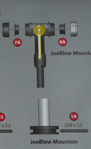 Joe Blow Mountain Floor Pump Spares
